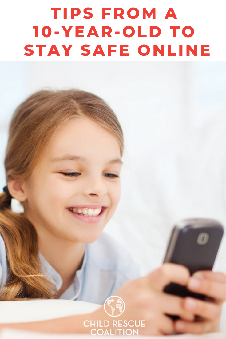 Do you think your kids are listening when you talk about online safety? Read these tips from a 10-year-old who attended our Blankets and Bear Hugs Community Day. Kids are smart and want to stay safe!