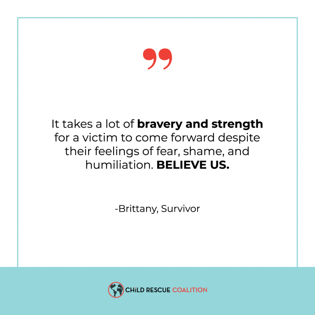 Brittany's a survivor of childhood sexual abuse. Read her warnings of how to prevent this from happening to more children.
